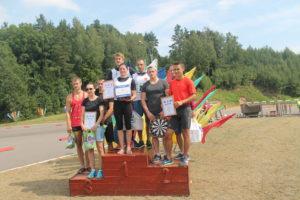 Летний биатлон среди коллективов города