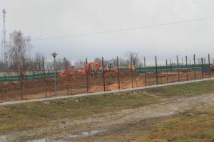 Началось строительство ФОК в Новогрудке