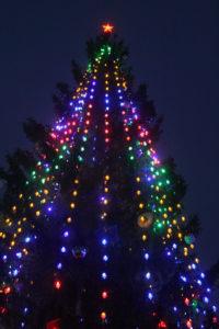 В Новогрудке зажгли главную елку