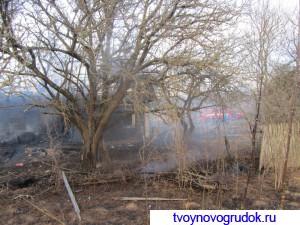Пожар в д.Зеневичи